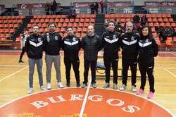 Equipo técnico del Club Balonmano Burgos